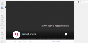 Google+ Cover Photo Screenshot